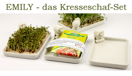 Emily - Das Kresseschaf - Set